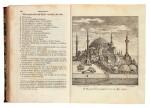 Byzantios. Konstantinoupolis e perigrafe, Athens, 1851-1869, first edition, presentation copy, 3 volumes, red half calf