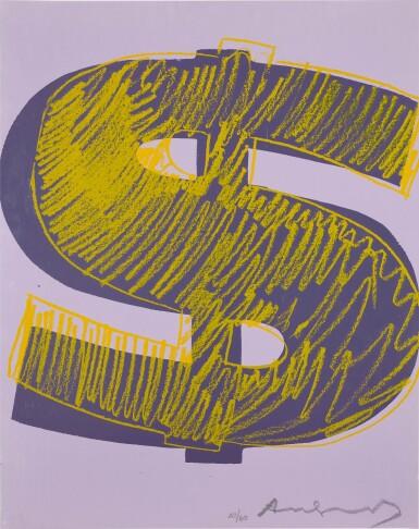 ANDY WARHOL | $ (1) (SEE F. & S. IIA.274-279)