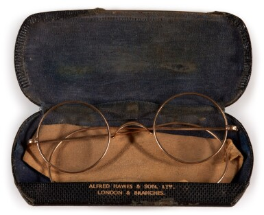 View 2. Thumbnail of Lot 38. JOHN LENNON | Pair of round Windsor spectacles.