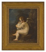 FOLLOWER OF BARTOLOMEO SCHEDONI, 18TH CENTURY | CUPID MUSING; CUPID WITH A VASE