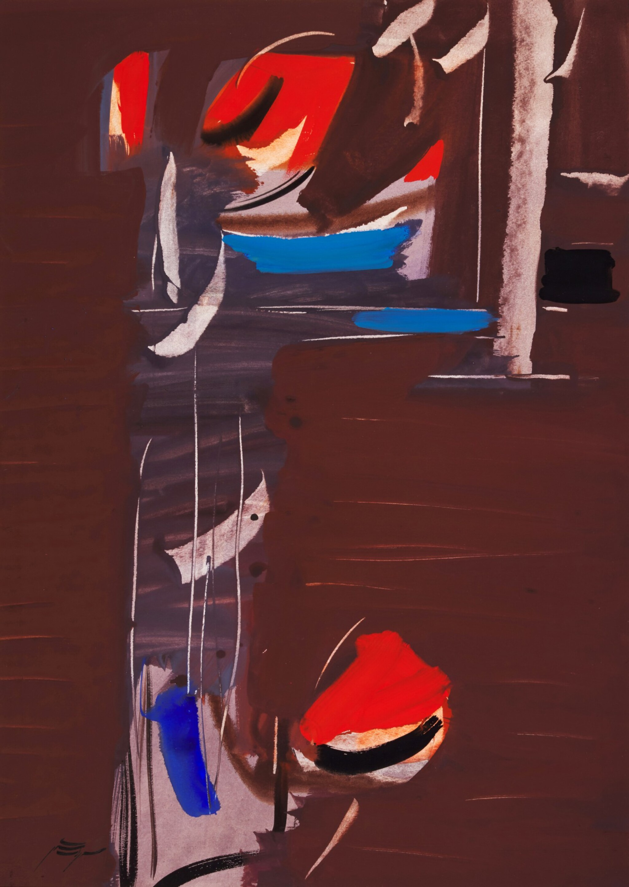 View full screen - View 1 of Lot 45. SOHRAB SEPEHRI   UNTITLED .