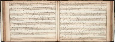 View 4. Thumbnail of Lot 65. Lute. Important manuscript of German, Austrian and French lute music, including by S.L. Weiss, c.1750 or later?.