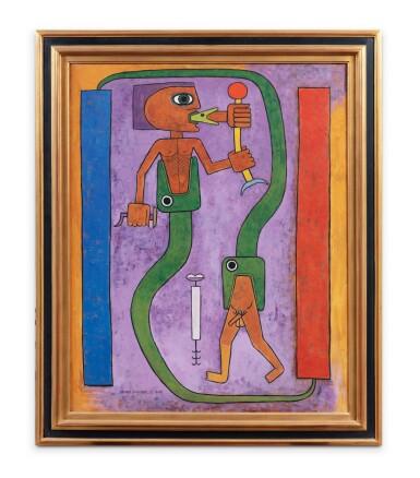 View 2. Thumbnail of Lot 22. Le Codex du Poète, Mythologie du Poète, Première Naissance     .