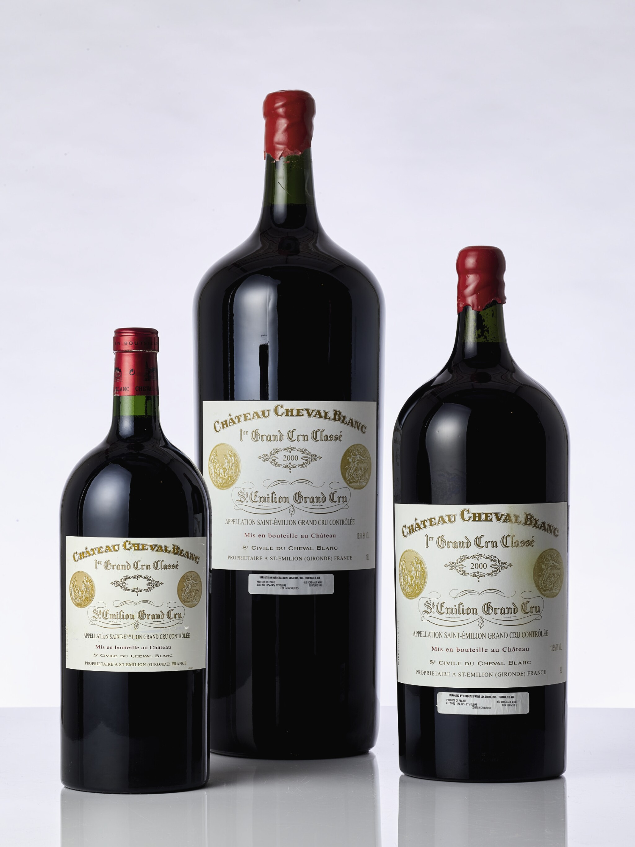 View full screen - View 1 of Lot 6183. Château Cheval Blanc 2000 (1 MELR).