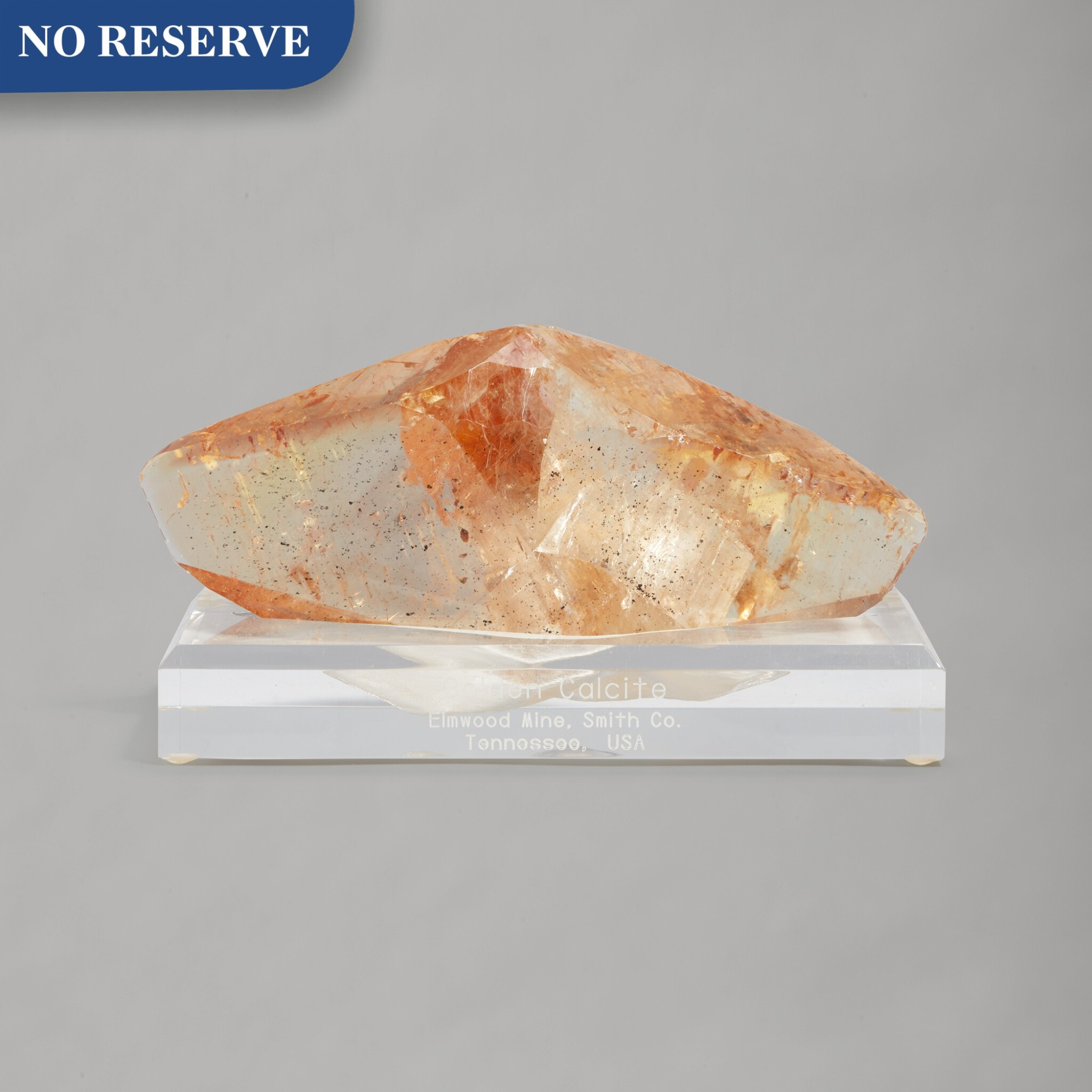 View full screen - View 1 of Lot 197. A Fine Elmwood Calcite.
