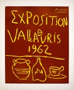 PABLO PICASSO | EXPOSITION VALLAURIS 1962 (B. 1299; BA. 1335; CZW. 49)