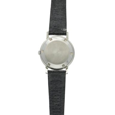 View 5. Thumbnail of Lot 237. Reference 3466  A stainless steel automatic wristwatch, Made in 1963.
