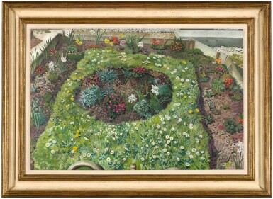 View 2. Thumbnail of Lot 48. SIR STANLEY SPENCER, R.A.  | COTTAGE GARDEN, LEONARD STANLEY.