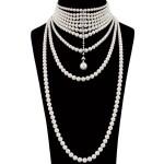 MIKIMOTO | CULTURED PEARL AND DIAMOND NECKLACE    御木本 | 養殖珍珠 配 鑽石 項鏈