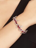 VAK | 'THE VINE' RUBY AND DIAMOND NECKLACE / BRACELET | VAK | 'The Vine' 紅寶石 配 鑽石 項鏈 / 手鏈