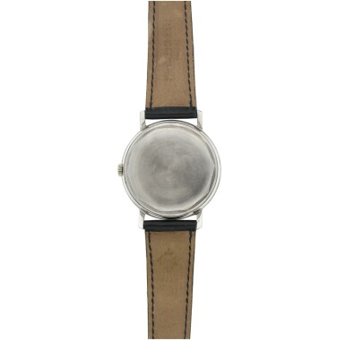 View 4. Thumbnail of Lot 23. REFERENCE 3445 A WHITE GOLD AUTOMATIC WRISTWATCH WITH DATE, MADE IN 1963.