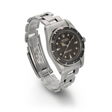 ROLEX | MILGAUSS REF 6541, RARE STAINLESS STEEL AUTOMATIC ANTI MAGNETIC WRISTWATCH WITH BRACELET, CIRCA 1959