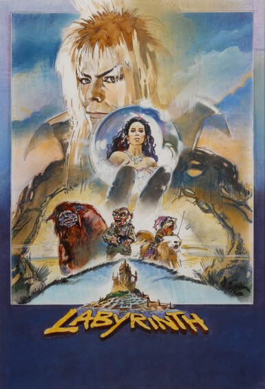LABYRINTH (1986) ORIGINAL ARTWORK, BRITISH