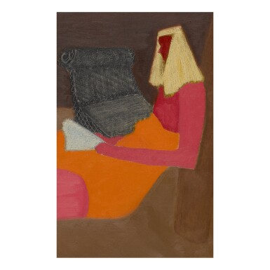 View 2. Thumbnail of Lot 28. MILTON AVERY |  PORCH SITTERS.