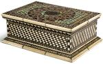 ITALIAN, PROBABLY VENICE, 15TH/ 16TH CENTURY | CASKET WITH GEOMETRICAL PATTERNS