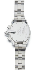 CARTIER | ROADSTER REF 2618, A STAINLESS STEEL AUTOMATIC CHRONOGRAPH WRISTWATCH WITH DATE AND BRACELET CIRCA 2000