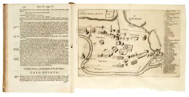 Nardini, Roma antica, Rome, Falco, 1666, contemporary vellum