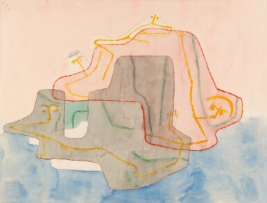 View 1. Thumbnail of Lot 14. PAUL KLEE | MYTHOS EINER INSEL.