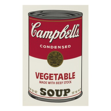 View 4. Thumbnail of Lot 19. ANDY WARHOL | CAMPBELL'S SOUP I (F. & S. II.44-53).
