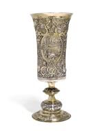 A Transylvanian silver-gilt standing cup, unmarked, circa 1580