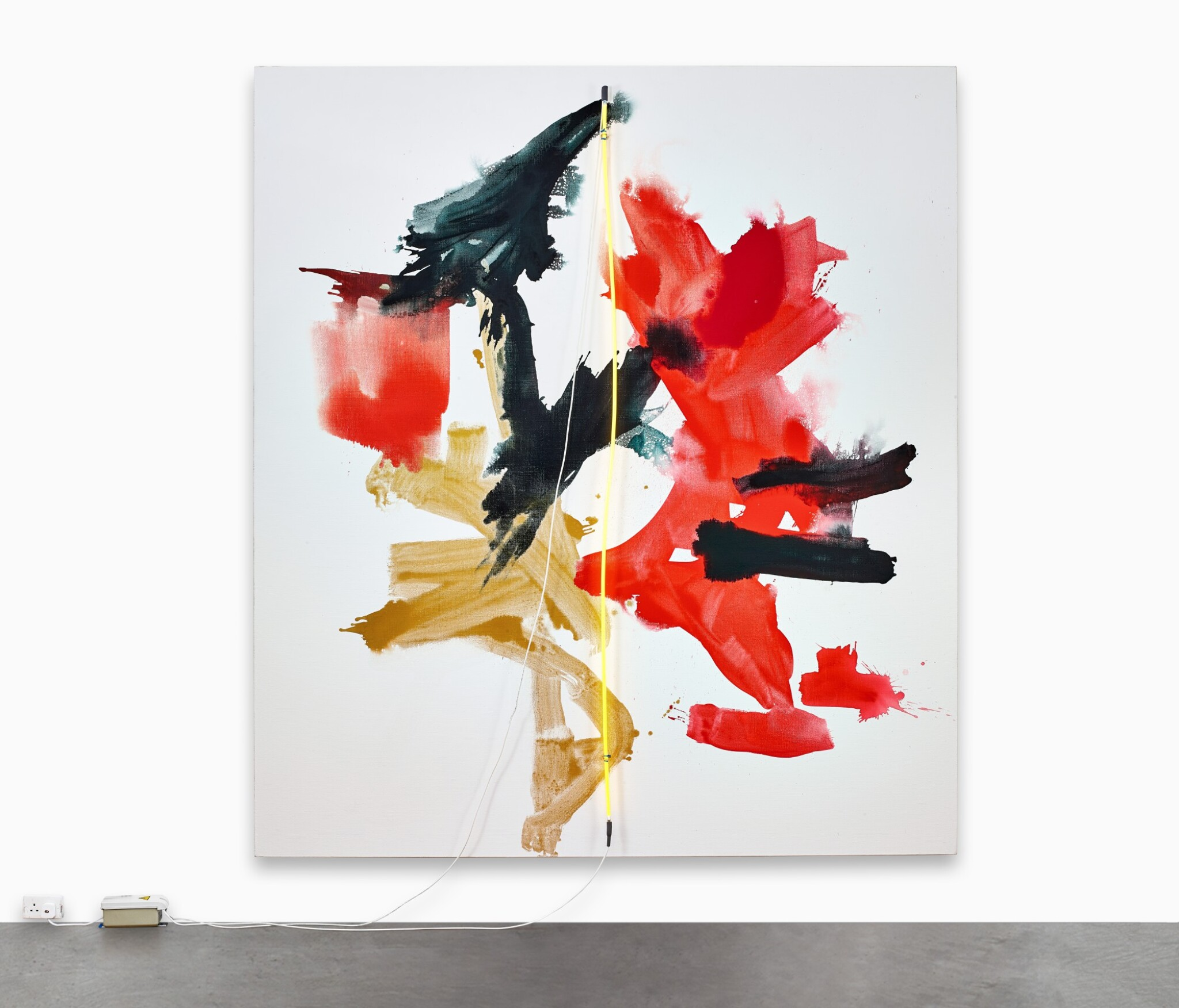 View full screen - View 1 of Lot 139. Mary Weatherford 瑪麗·韋瑟福德 | Bird of Paradise 極樂鳥.