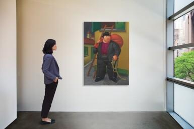 View 4. Thumbnail of Lot 571. Fernando Botero 費南度・波特羅 | Untitled 無題.