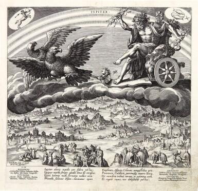 JAN SADELER I | THE SEVEN PLANETS (PLANETARUM EFFECTUS ET EORUM IN SIGNIS ZODIACI) (HOLLSTEIN 517-524)