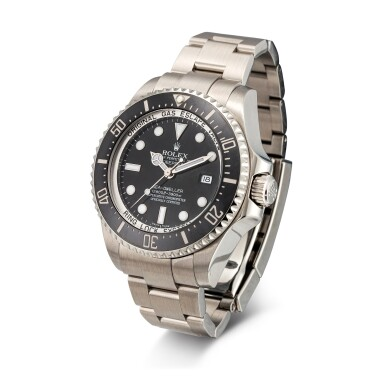 View 2. Thumbnail of Lot 8033. Rolex | Sea-Dweller Deepsea, Reference 116660, A stainless steel wristwatch with date and bracelet, Circa 2010 | 勞力士 | Sea-Dweller Deepsea 型號116660   精鋼鏈帶腕錶,備日期顯示,約2010年製.