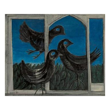 YOSL BERGNER | THREE BIRDS