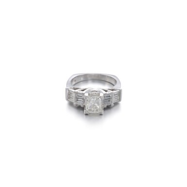 View 1. Thumbnail of Lot 1168. Diamond ring.