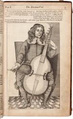 C. Simpson. Chelys...The Division-Viol, Editio Secunda, 1667