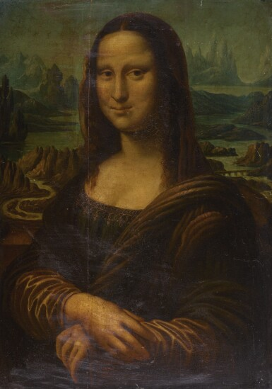FOLLOWER OF LEONARDO DA VINCI, 19TH CENTURY | Mona Lisa