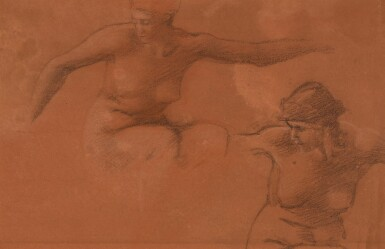 View 1. Thumbnail of Lot 18. Figure Studies for Perseus and the Graiae.