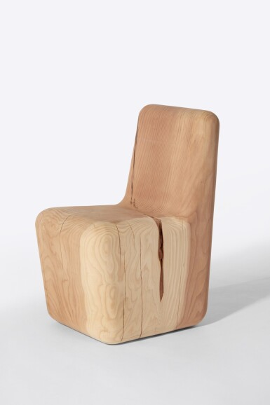 View 1. Thumbnail of Lot 106. Redwood Chair.