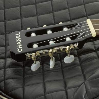View 5. Thumbnail of Lot 28. Limited Edition Black Redwood & Tea Wood Classical Acoustic Guitar, 2009.