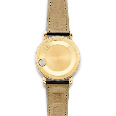 View 3. Thumbnail of Lot 2204. Andersen Geneve   Montre À Tact, A limited edition two colour gold wristwatch with wandering time display, Circa 2002   Montre À Tact  限量版雙色金腕錶,備扇形時間顯示,約2002年製.