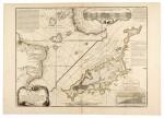BRAZIL | Fernando de Noronha island, watercolour and engraved map