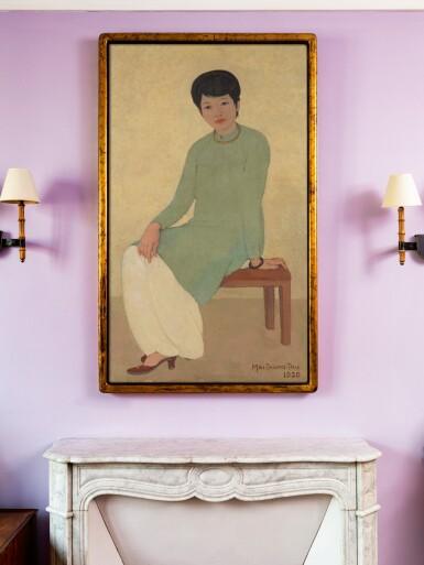 View 4. Thumbnail of Lot 1026. Mai Trung Thu 梅忠恕 | Portrait de Mademoiselle Phuong 芳小姐的肖像.