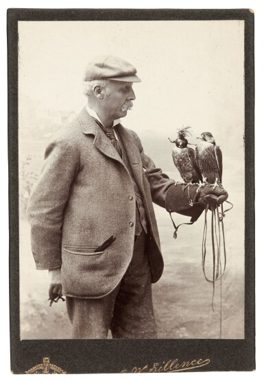 View 5. Thumbnail of Lot 22. James Edmund Harting | Archive of ornithological papers, correspondence, and other items, 19th-20th century.