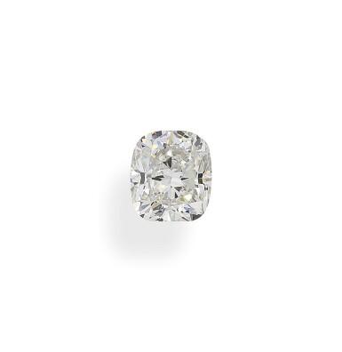 A 1.08 Carat Cushion-Cut Diamond, H Color, VS1 Clarity
