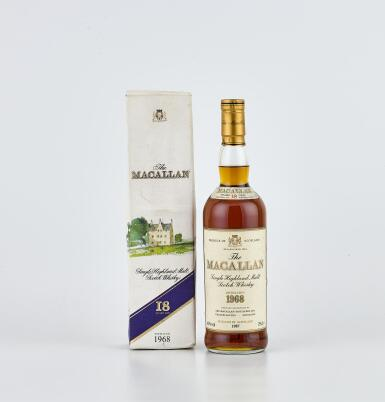 The Macallan 18 Year Old 43.0 abv 1968 (1 BT70)