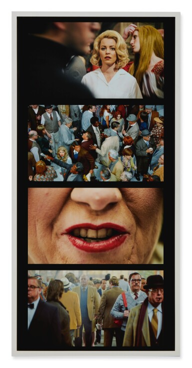 View 2. Thumbnail of Lot 63. Face in the Crowd Film Strip #2.