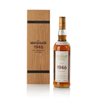 View 1. Thumbnail of Lot 39. The Macallan Fine & Rare 56 Year Old 44.3 abv 1946 .