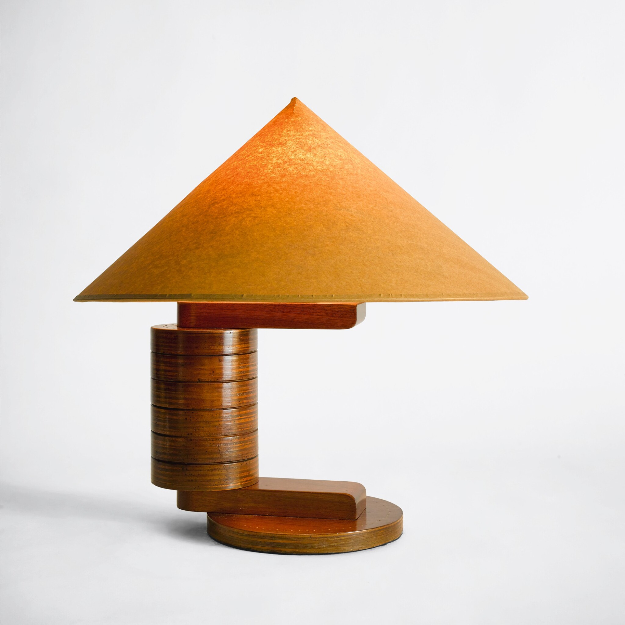 """View full screen - View 1 of Lot 73. """"Rondins"""" Table Lamp."""