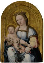 GERMAN SCHOOL, EARLY 16TH CENTURY | THE MADONNA AND CHILD