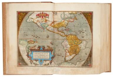 View 2. Thumbnail of Lot 50. Abraham Ortelius | Theatrum orbis terrarum, 1595.