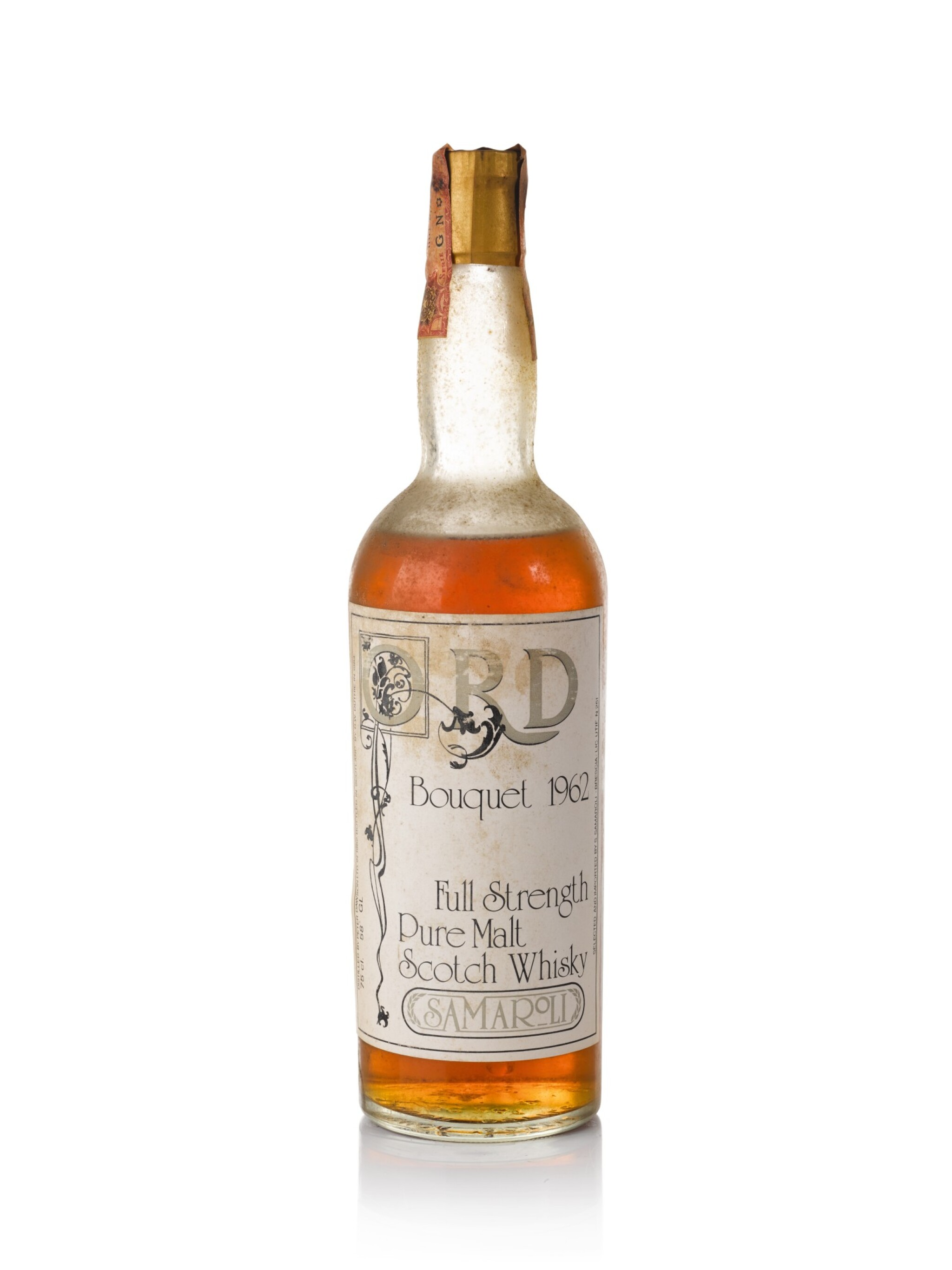 View full screen - View 1 of Lot 97. Ord Samaroli Bouquet 22 Year Old 58.0 abv 1962.