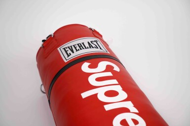 View 3. Thumbnail of Lot 2. SUPREME EVERLAST PUNCHING BAG.