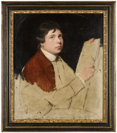 View 3. Thumbnail of Lot 36. JOHN HAMILTON MORTIMER, A.R.A.     SELF-PORTRAIT OF THE ARTIST.