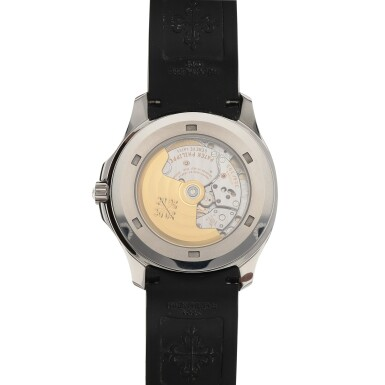 View 4. Thumbnail of Lot 70. Aquanaut, Ref. 5167A Stainless steel wristwatch with date Circa 2007 | 百達翡麗 5167A型號「Aquanaut」精鋼腕錶備日期顯示,年份約2007.